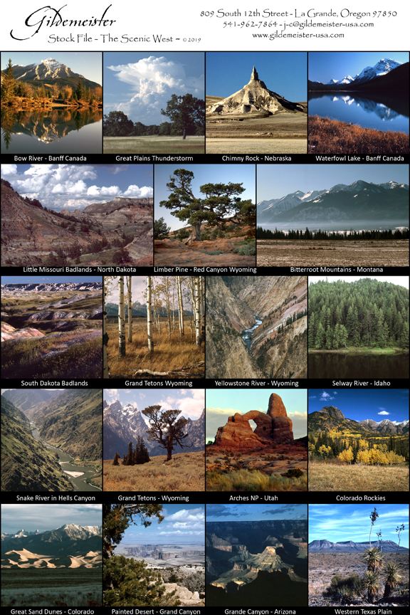 Gildemeister Stock Photo Archives - The Scenic West
