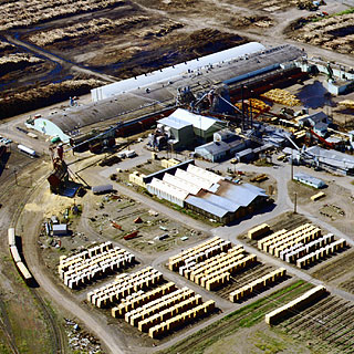 Boise Cascade studmill and plywood plant