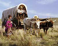 Oregon Trail Pagentry - Covered Wagon Pioneers