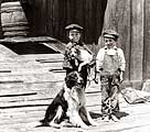 Sumpter Valley boys and dogs